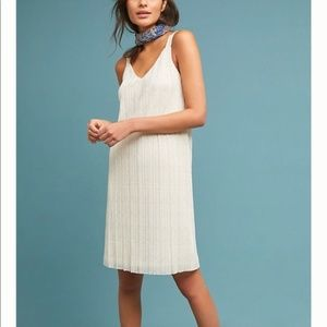 Anthropologie Prespa Pleated Dress